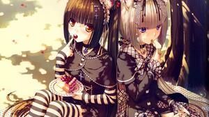 Neko Para Vanilla Neko Para Anime Anime Games Video Games Video Game Art Fan Art Artwork Neko Musume 1600x1200 Wallpaper