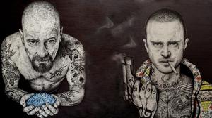 Breaking Bad Gun Jesse Pinkman Tattoo Walter White 1920x1080 Wallpaper