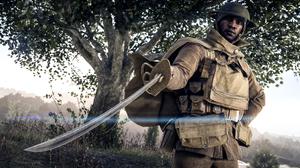 Battlefield 1 Soldier Sword 2560x1440 Wallpaper