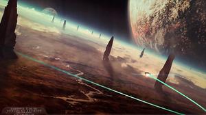 Sci Fi Planetscape 2000x1081 wallpaper