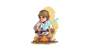 Luke Skywalker Star Wars 1920x1080 Wallpaper