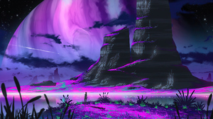 Fantasy Landscape 5120x2880 Wallpaper