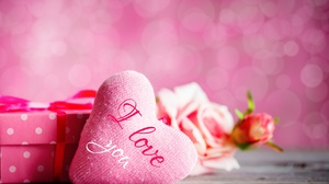 Bokeh Heart Love Valentine 039 S Day 5229x3486 Wallpaper