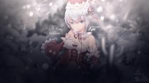 Rem Re Zero Navidad Christmas Chains Re Zero Kara Hajimeru Isekai Seikatsu Anime Girls 1920x1080 Wallpaper