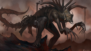 Creature Creepy Giant 2500x1504 wallpaper