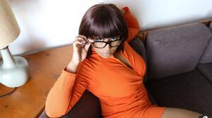 Velma Dinkley Cosplay Boots Glasses 5220x3648 Wallpaper