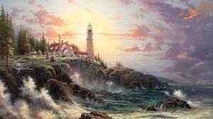 Man Made Lighthouse 1944x1276 Wallpaper