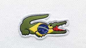Crocodile Flag Of Brazil Lacoste 3500x2586 Wallpaper