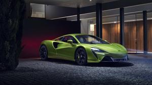 Car Green Car Mclaren Mclaren Artura Sport Car Supercar 3840x2160 Wallpaper