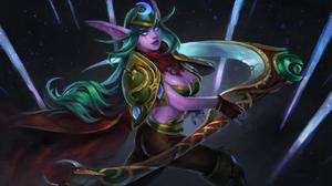 Blizzard Entertainment World Of Warcraft Night Elves 2294x1291 Wallpaper
