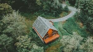 Man Made House 2206x2000 Wallpaper