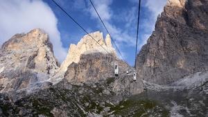 Dolomite Alps Dolomites Mountains Rock Mountains Nature Landscape South Tyrol 2048x1365 Wallpaper