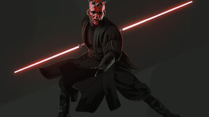 Darth Maul Lightsaber Sith Star Wars Star Wars 1920x1280 Wallpaper