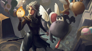 Crossover Daenerys Targaryen Game Of Thrones Yoshi 1920x1328 Wallpaper