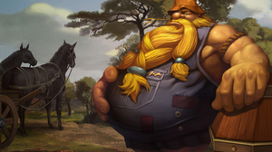 Gragas League Of Legends 2560x1440 Wallpaper