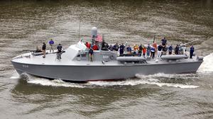 Military Boat 1920x1080 Wallpaper