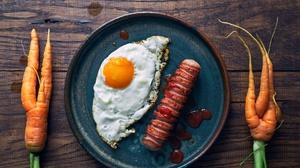 Still Life Food Carrot Eggs Humor 2500x1749 Wallpaper