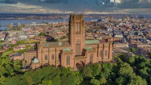 Liverpool England Cathedral Architecture 2200x1236 Wallpaper