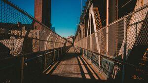 Manhattan Bridge Architecture Manhattan Path 3840x2160 Wallpaper