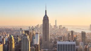 Building City Cityscape New York Skyscraper Usa 4500x2206 Wallpaper