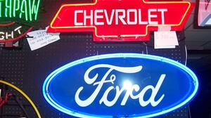 Chevrolet Ford Light Neon Neon Sign Sign Vehicle 1800x1200 Wallpaper