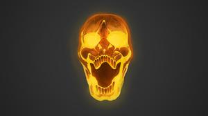 Dark Skull 4800x2700 Wallpaper
