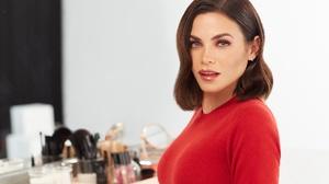 Actress American Brunette Lipstick 2048x1365 Wallpaper