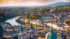 Salzburg Old Building Architecture Austria 3000x2000 Wallpaper