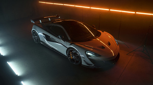 McLaren McLaren 620R Supercars Car Vehicle White Cars Low Light Sports Car British Cars 5120x2880 Wallpaper