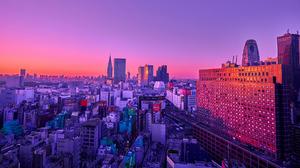 Photography Sunset Building Japan City 1920x1080 Wallpaper