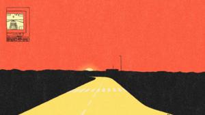 Red Sky Sunset Desert 3840x2160 Wallpaper