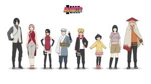Boruto Uzumaki Naruto Naruto Uzumaki Hinata Hy Ga Himawari Uzumaki Sasuke Uchiha Sakura Haruno Sarad 2501x1406 Wallpaper