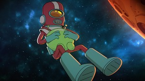 Gary Goodspeed Mooncake Final Space Man Boots Space 1920x1080 Wallpaper
