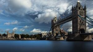Bridge London Cloud Thames 1920x1200 Wallpaper