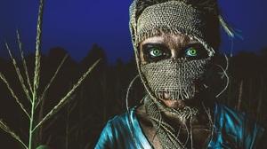 Boy Creepy Green Eyes Scary 2048x1638 Wallpaper