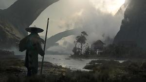 Fantasy Landscape 2400x924 Wallpaper