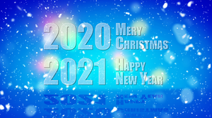 Christmas New Year 2021 Year Numbers Typography 1920x1080 Wallpaper