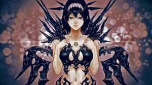 Angel Anime Black Black Hair Dark Dark Angel 1920x1200 Wallpaper