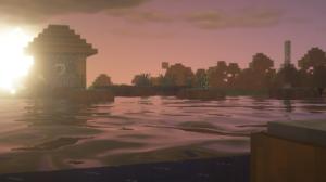 Minecraft Nature Sun 1920x1080 Wallpaper