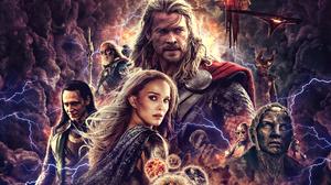 Heimdall Marvel Comics Jane Foster Loki Odin Marvel Comics Thor Thor The Dark World 1920x1541 wallpaper