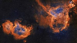 Heart Nebula Nebula Soul Nebula 5000x2737 Wallpaper
