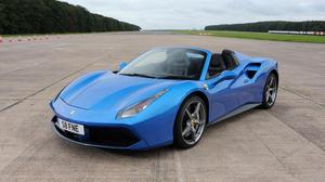 Ferrari Car Blue Car Sport Car Supercar 4096x2304 Wallpaper