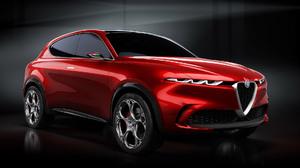 Concept Car Red Car Car 1920x1080 Wallpaper