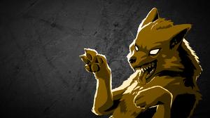 Wolf Simple Animals 2560x1440 Wallpaper