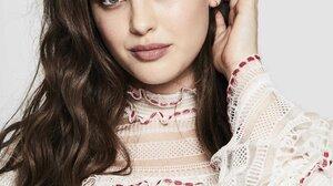 Katherine Langford Women Actress Blue Eyes Australian Girls Long Hair Brunette 2500x3571 Wallpaper