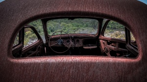 Car Vehicle Old Wreck 2048x1280 Wallpaper