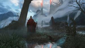 Fantasy Sorcerer 1920x1375 Wallpaper