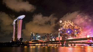 Photography Fireworks 2560x1600 wallpaper