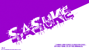 Quote Sasuke Uchiha Text 7680x4320 Wallpaper