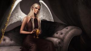 Fantasy Angel 1920x1200 Wallpaper
